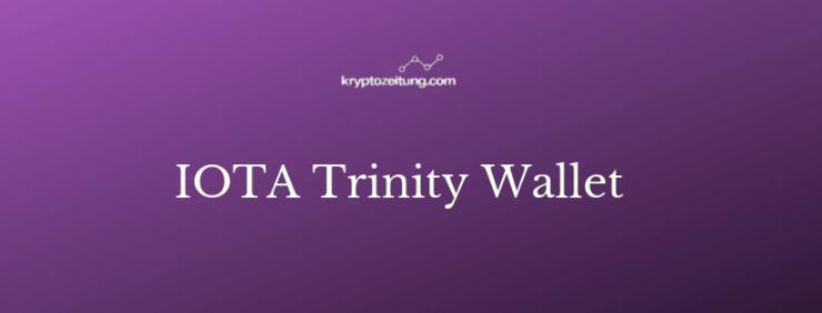iota trinity wallet