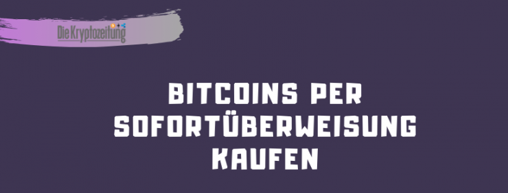 bitcoin sofort