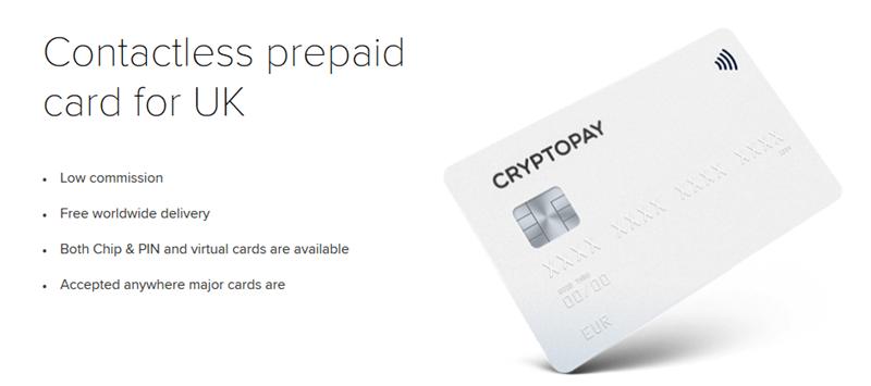 Cryptopay Karte