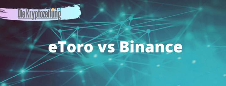 Binance vs eToro