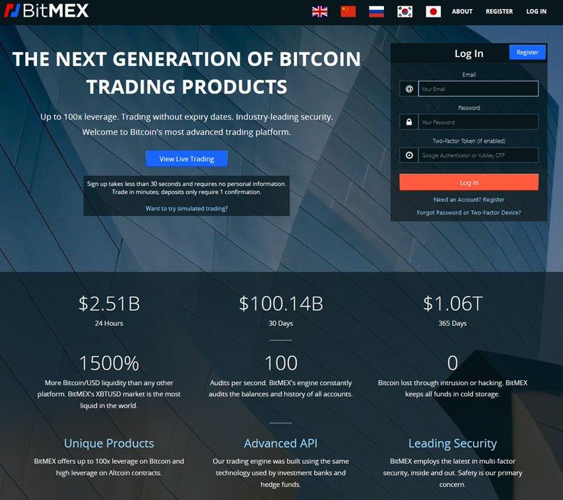 bitmex-website