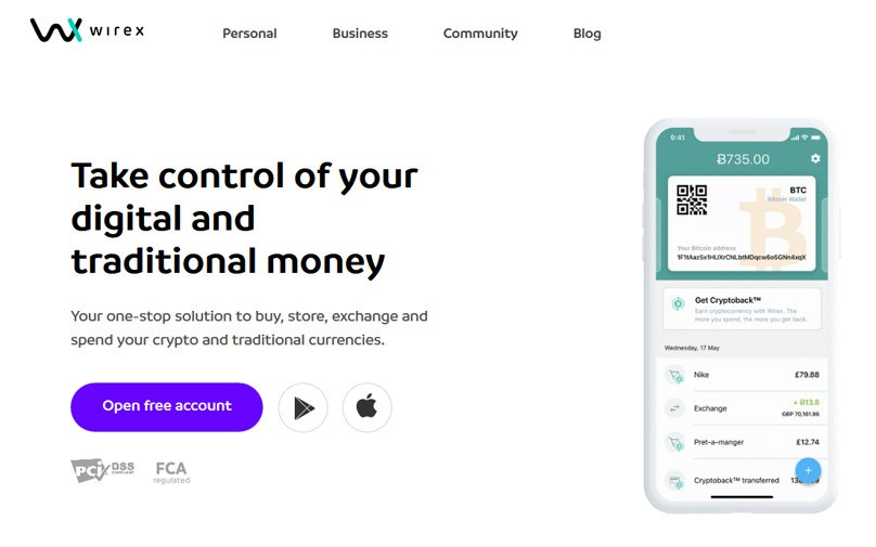 wirex-website