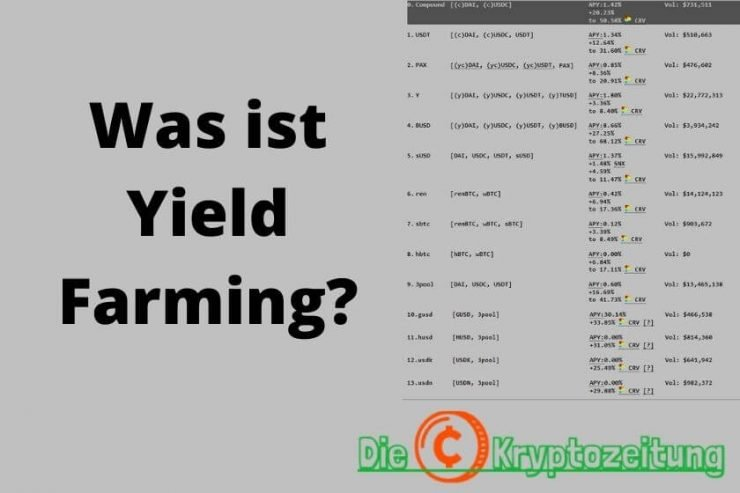 Was ist yield farming