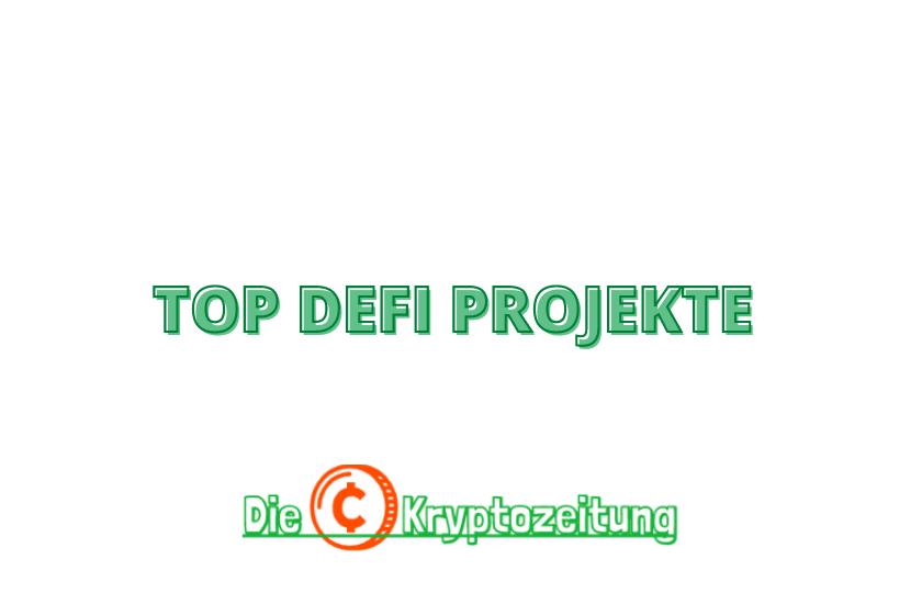 Beste etheeum-defi-Projekte